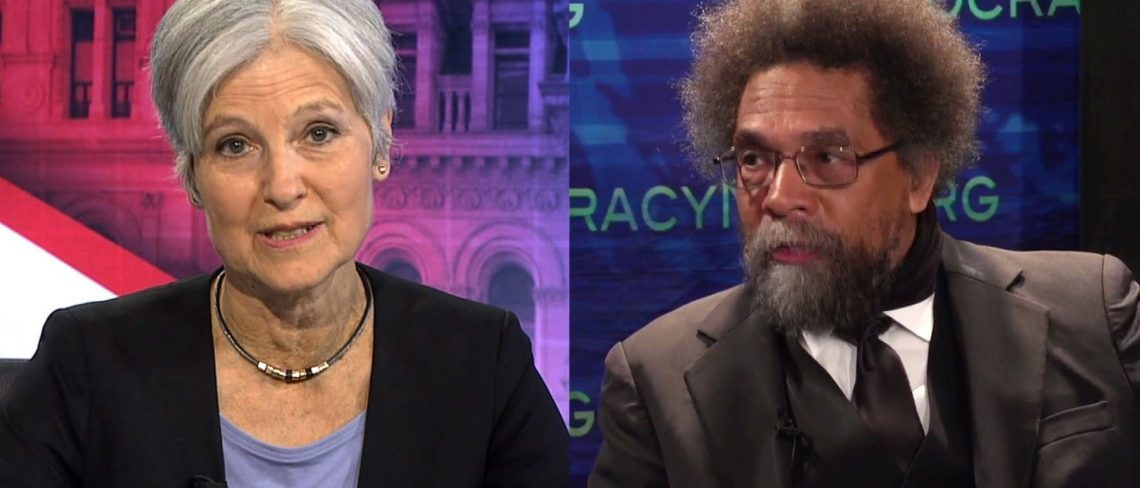 "Cornel West: Why I Endorse Jill Stein Over ""Neoliberal Disaster""  Clinton"